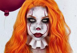 23 ideas de maquillaje Pennywise para Halloween