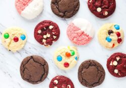 Cake mix cookies con 3 ingredientes (¡4 formas!)