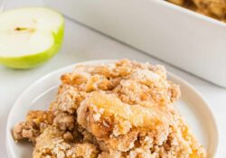 EASY Apple Dump Cake (5 ingredients!)