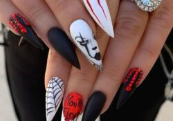 50 Devilishly Cute Halloween Nail Designs You Need To See