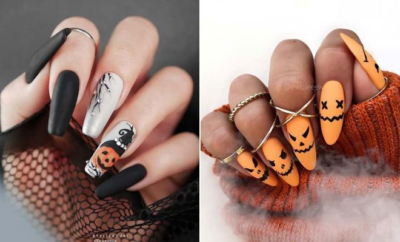23 most beautiful halloween acrylic nails  blog de mujeres