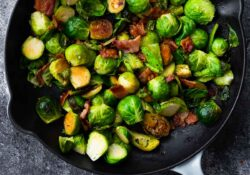 Seriously Amazing Brussels Sprouts with Bacon