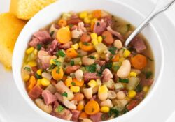 EASY Ham & Bean Soup