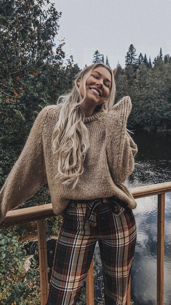 Cute sweater outfits