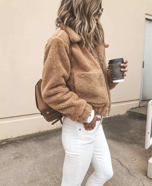 Best teddy coat outfits for fall