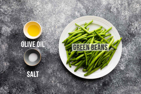 ingredients required to make air fryer green beans