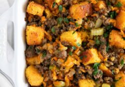 The BEST Cornbread Stuffing - I Heart Naptime