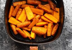 Air Fryer Carrots (tender + sweet!)
