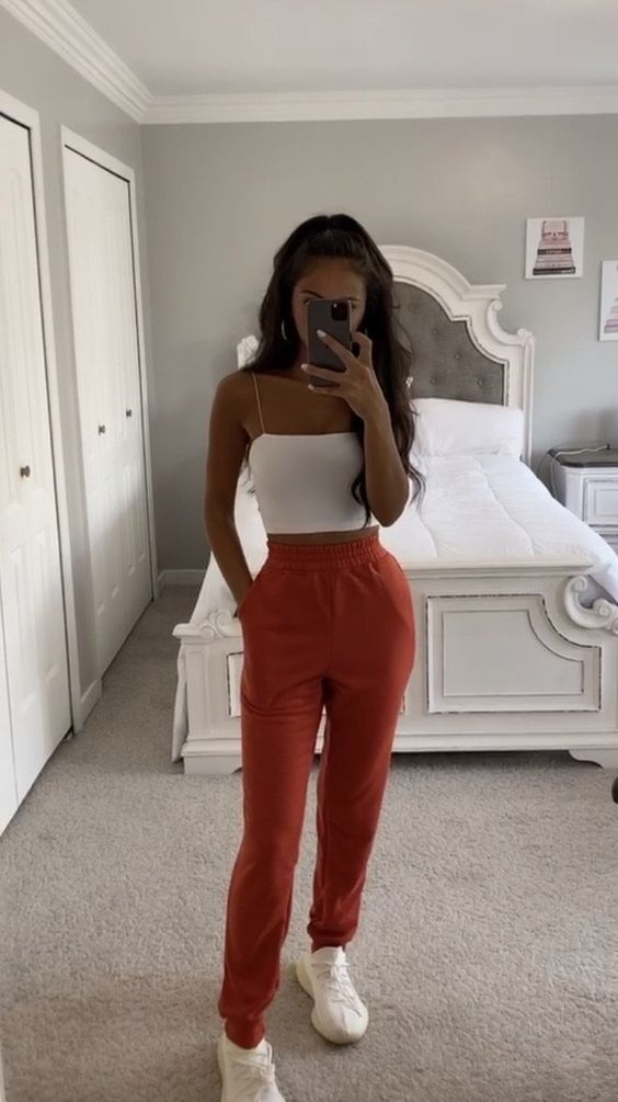 Lindos outfits con joggers