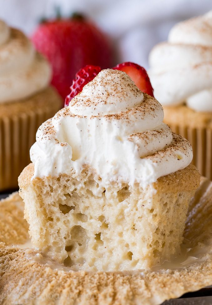 Cupcakes Tres Leches