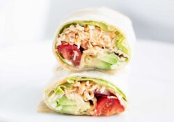 Wrap de pollo Buffalo - I Heart Naptime